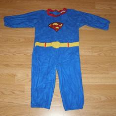 Costum carnaval serbare superman pentru copii de 3-4 ani, Din imagine