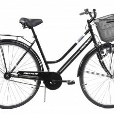 Bicicleta Oras Kreativ 2812 505mm Negru L 28 inch