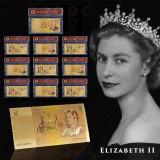 AUSTRALIA- Bancnota 1 DOLLAR -  Bancnota placata cu aur - COLOR