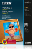Hartie foto Epson Glossy A4 200g/mp top 50 coli