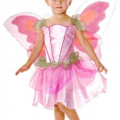 Costum de carnaval pentru fetite Zana Primaverii, 3 ani+