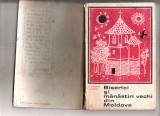 Carte Biserici și mănăstiri vechi din Moldova  Editura Meridiane