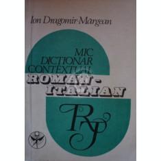 Mic dictionar contextual roman-italian