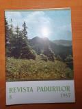 revista padurilor mai 1967-ocolul silvic avrig,arpas,tisa din munti tarcaului