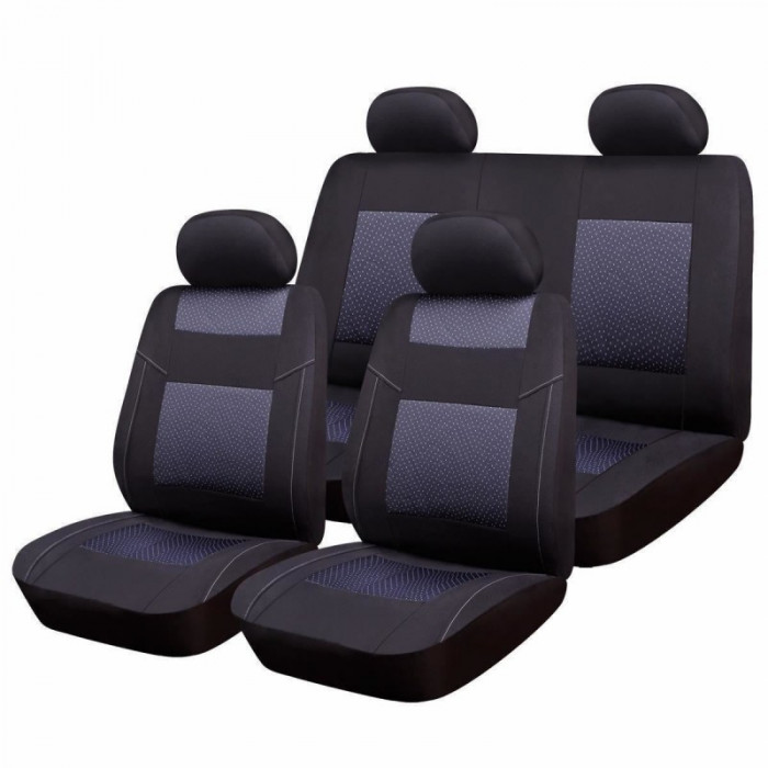 Huse scaune auto RoGroup Premium Line, 9 piese, universal