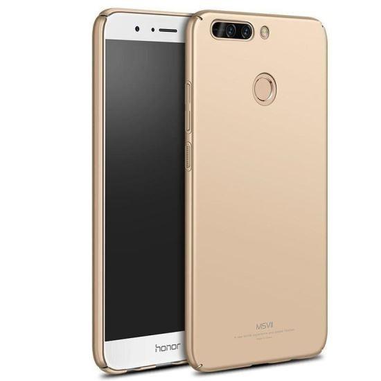 Husa MSVII Aurie Folie Protectie Sticla Pentru Huawei Honor 8 ProHonor V9