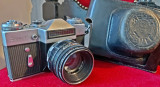 Aparat foto Zenit E + Helios 44-2 58mm f/2 pentru fotografie clasica