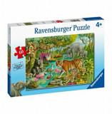 Puzzle Ravensburger - Padure on India, 60 piese