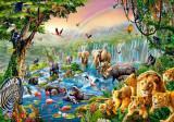 Puzzle Castorland - Jungle River 500 piese