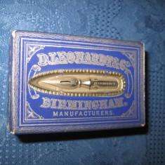 2655-I-Cutie interbelica penite-D. Leonardt. Co pens Birmingham Manufacturers.