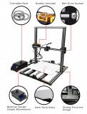 Imprimanta 3d profesionala 400x400x500 3d printer