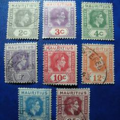 MAURITIUS GEORGE VI 1938