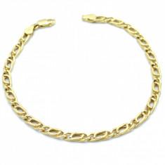 Bratara Oro Fantasia, din aur galben 14K, lungime 20.5 cm, 178542