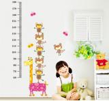 Sticker decorativ, Masuratoare cu animalute 140 cm, 132STK