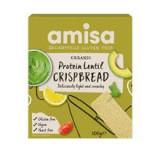 Painici Proteice cu Linte Fara Gluten Crispbread Bio 100 grame Amisa Cod: 5032722317345