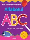 Scrie si sterge de cate ori vrei - Alfabetul PlayLearn Toys