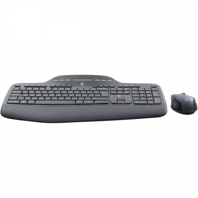 Kit Tastatura + Mouse Logitech Wireless Desktop MK710 Black foto