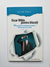 Oscar Wilde pentru blazati (Autor: Allan Percy) foto