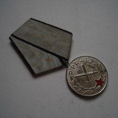 Medalia Meritul Militar cls. a II-a RPR