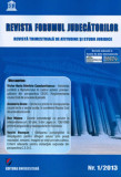 Cumpara ieftin Revista Forumul Judecatorilor - nr. 1 2013