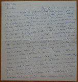 Scrisoare a scriitoarei evreice Lucia Demetrius catre Mia Groza , 1973