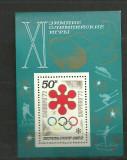 RUSIA 1972 – J.O SAPPORO, colita nestampilata, DB5