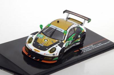 Macheta Porsche 911 GT3-R (991/II) Daytona 2017 IXO 1:43 foto