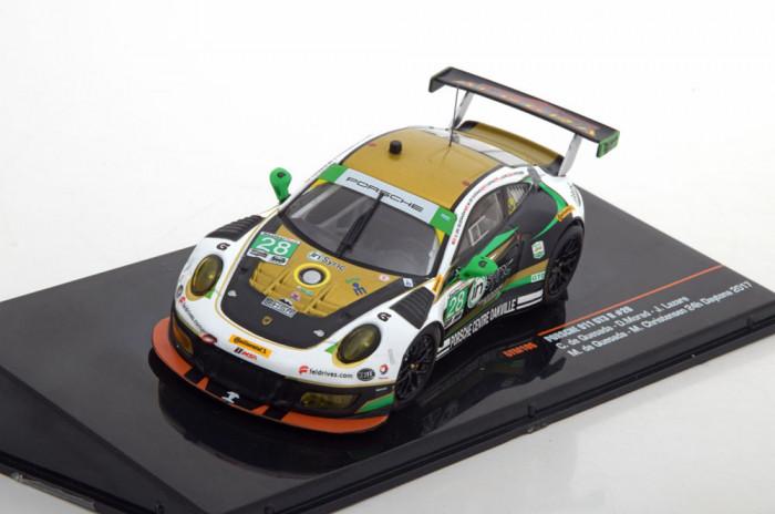 Macheta Porsche 911 GT3-R (991/II) Daytona 2017 IXO 1:43