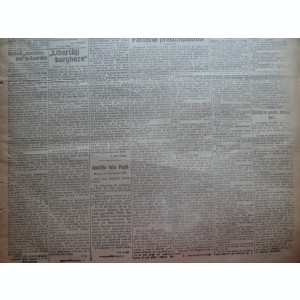 Ziarul Socialismul , Organul Partidului Socialist , nr. 25 / 1920 ,desen Tonitza