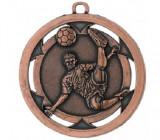 Medalie Fotbal Bronz, 5 cm diametru