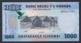A3052 Rwanda 1000 francs amafaranga 2015 UNC