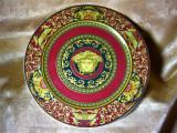 Platou portelan Rosenthal Versace Medusa, colectie, cadou, vintage