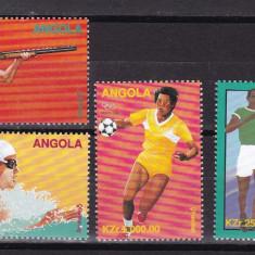 Angola  1996 sport  olimpiada  MI 1102-1105  MNH  w59