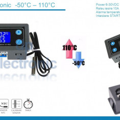 Termostat electronic digital Controler temperatura 6-30v 10A