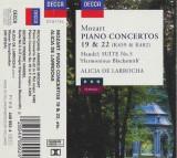 CD Mozart, Handel / Alicia De Larrocha – Piano Concertos 19 & 22