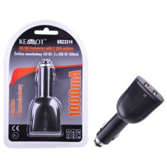 ALIMENTATOR DC/2 X USB 5V 1000MA EuroGoods Quality