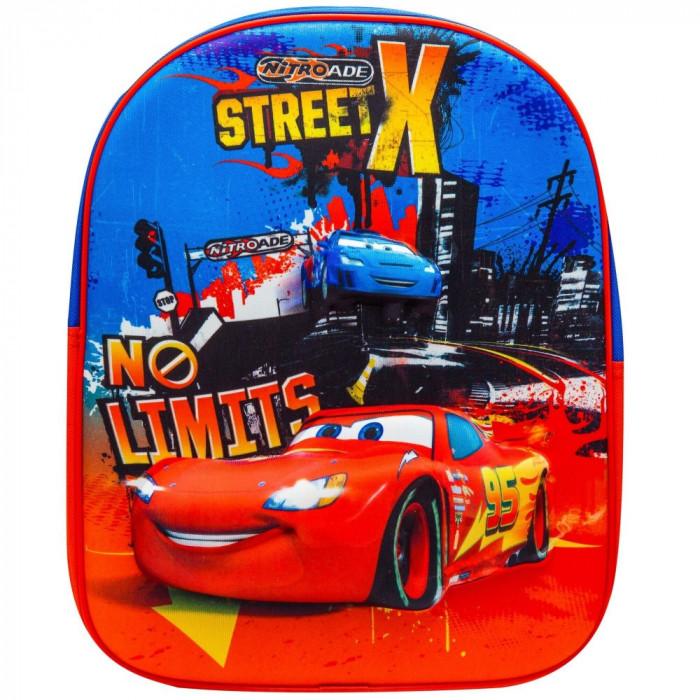 Ghiozdan 3D Cars Disney - Rosu cu Albastru