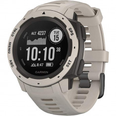 Smartwatch Instinct GPS Alb, Garmin