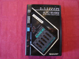 Walkman SHARP JC-820E(made in Japan)-necesita curele