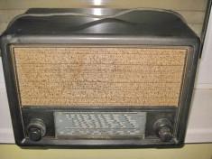 7596-I-Telefunken 154 GWK bachelita-Radio vechi antebelic stare buna. foto