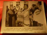 Fotografie - Vizita Dnei Anne Marie Dumas in sat Calimanel jud.Harghita ,dim.=24