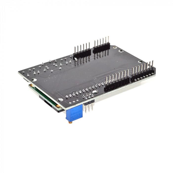 Modul albastru LCD 1602 compatibil Duemilanove Uno Mega2560 Mega1280 OKY4004