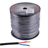 Cablu pentru difuzor Azusa, rotund, 2.5 mm, fir de bumbac, rola 100 m