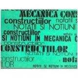 Notiuni si notatii in mecanica constructiilor