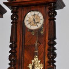 Ceas de perete cu pendul Junghans-cu tambur muzical