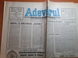 """Ziarul adevarul 4 aprilie 1990-art .dobanda si romantismul """"electoral"""""""