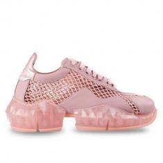 Sneakersi Mihai Albu Pink Diamond din piele naturala