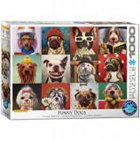 Cumpara ieftin Puzzle Eurographics - Lucia Heffernan: Funny Dogs, 1000 piese