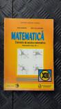 MATEMATICA CLASA A XII A - ELEMENTE DE ANALIZA MATEMATICA COLOJOARCA , BOBOC