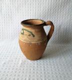 Oala de pamant Oltenia, ceramica veche, oala veche de lut
